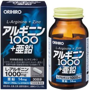 Orihiro Arginine + Zinc