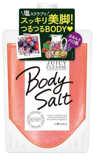 Utena Juicy Cleanse Body Salt Berry
