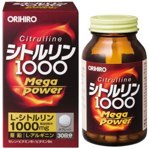Orihiro Mega Power 1000 with Citrulline