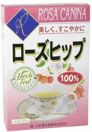 Tea with rosehip Yamamoto Kanpo Rose Hip 100%
