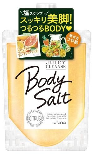 Utena Juicy Cleans Body Salt Citrus