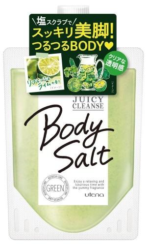 Utena Juicy Cleanse Body Salt Green