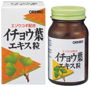 Orihiro Ginkgo Leaf Extract