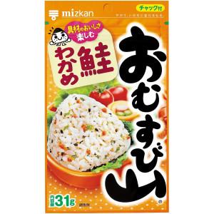 Mizkan Omusubiyama Rice Seasonings Salmon/Wakame