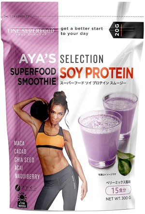 FINE JAPAN SUPERFOOD SOY PROTEIN SMOOTHIE