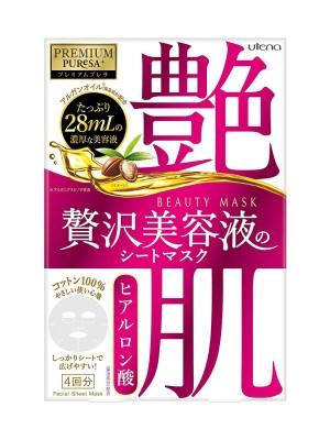 Utena Premium Puresa Beauty Mask Hyaluronic Acid