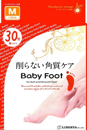 Cosme Baby Foot Exfoliant (Size L)