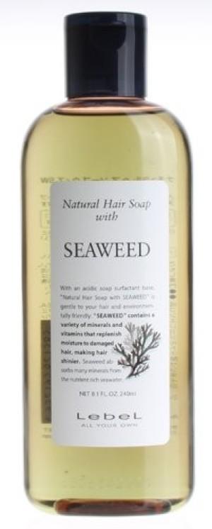 LebeL Natural Hair Soap SEAWEED Shampoo
