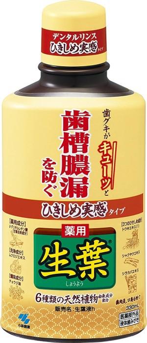 Kobayashi Pharmaceutical Medicinal Leaf Tightness Living Fluid