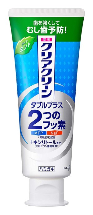 Kao Clear Clean Double Plus Mint Medicated Toothpaste