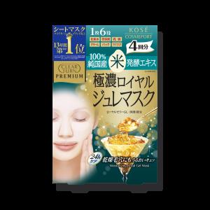 Kose Clear Turn Premium Royal Jelly & Rice Mask