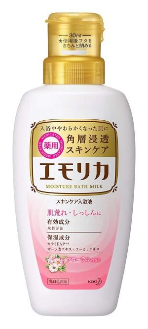 Kao Emorika Moisture Bath Milk