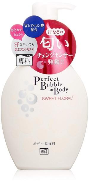 Shiseido Senka Perfect Bubble For Body Sweet Floral