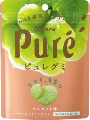Meiji Fruit Juice Gummy Collagen Muscat