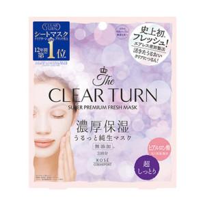 Kose Clear Turn Premium Fresh Super Moist Mask