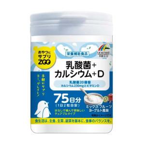 ZOO Unimat Riken Chewing Calcium + Vitamin D and Lactic Acid Bacteria for 75 days (Fruits & Yogurt)