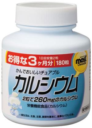 Orihiro Chewing Calcium + Vitamin D