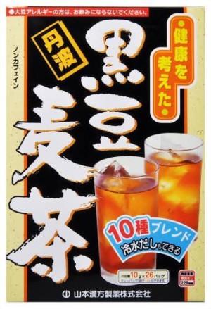 Tea with black beans Yamamoto Kanpo black Bean Barley Tea