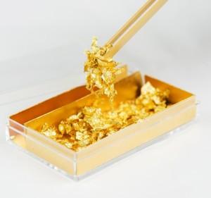 Food gold leaf (0.075 g)
