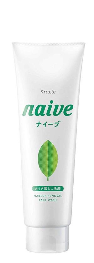 Kracie Naive Makeup Removal Face Wash Green Tea
