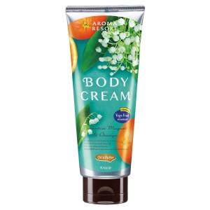 Kracie Aroma Resort Body Cream Lucentia Muguet & Orange