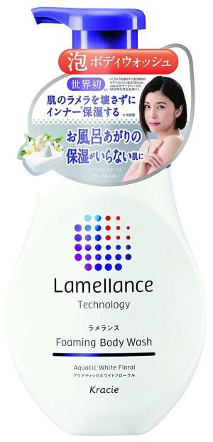Kracie Lamellance Foaming Body Wash Aquatic White Floral