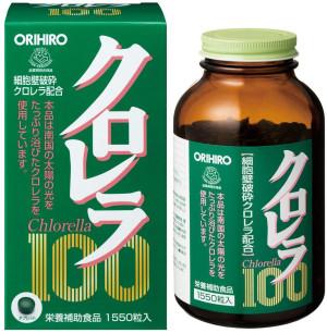 Orihiro Chlorella 100