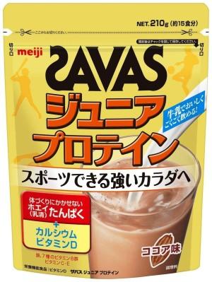 Meiji Savas Junior Protein Cocoa Flavor