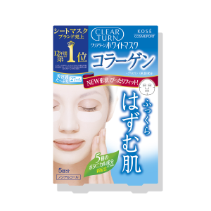 Kose Clear Turn White Collagen Mask