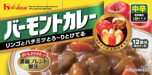 Japanese Curry Housefood Vermont Apple and Honey (sweet, with ostrinkoy)