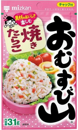 Mizkan Omusubiyama Rice Seasonings Сod Сaviar
