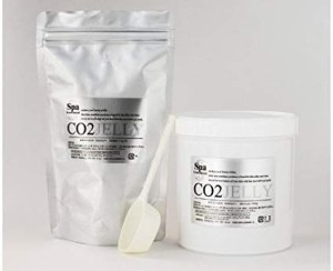 Moisturizing and firming face mask SPA Treatment CO2 Jelly