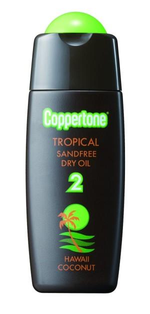 Taisho Coppertone Tropical SandFree Dry Oil SPF2