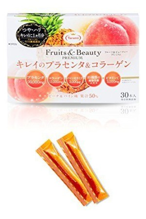 Tarami Fruits & Beauty PREMIUM Karei's Placenta & Collagen