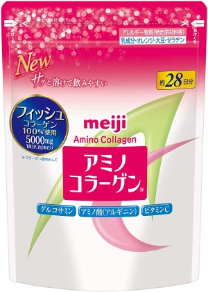 Meiji Amino-Collagen Replacement Pack