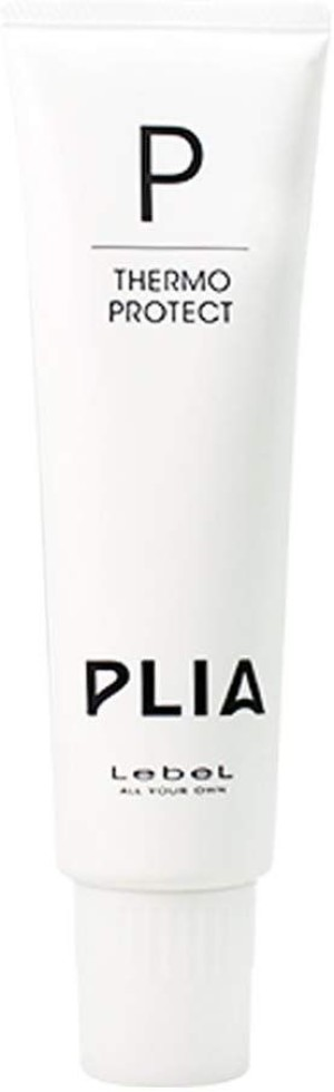 Lebel PLIA Thermo Protect cream for thermal hair protection during sensory straightening