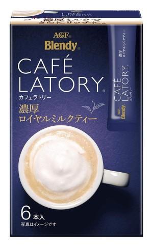 AGF brendy Cafe Latte Stick Rich Royal Milk Tea